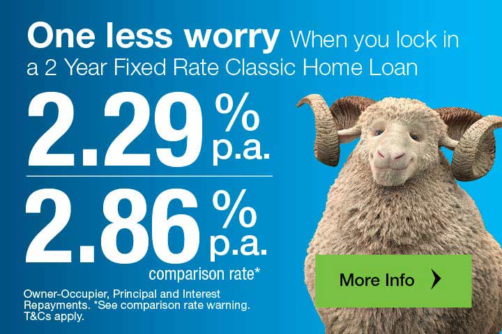 2 year fixed rate home page with CTA